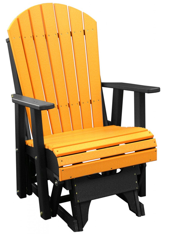 Deluxe Poly 2 39 Adirondack Glider